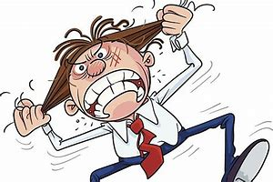 Image result for cartoon of insane man